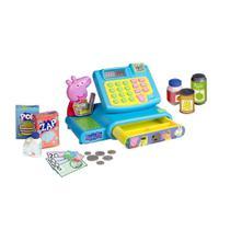 Brinquedo Peppa Pig Mercadinho Caixa Registradora DTC 4653 -