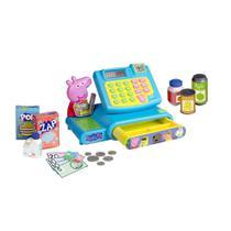 Brinquedo - Peppa Pig - Mercadinho Caixa Registradora - DTC -