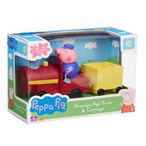 Brinquedo Peppa Pig Vovô Maquinista com Trenzinho - 0023 - Sunny