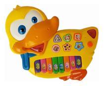 Brinquedo Piano Duck Pato Teclado Musical Infantil - Keyboard Eletronic