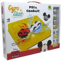 Brinquedo Pião Giro Star Pista Combate Disney Turma Mickey - Dtc