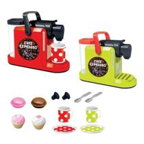 Brinquedo Plástico Máquina De Café Expresso Exp-538 Fenix verde -