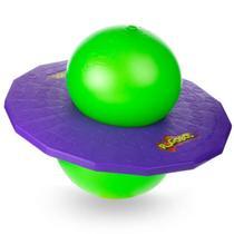Brinquedo Pogobol Roxo e Verde Original Estrela -