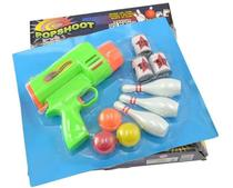 Brinquedo Popshoot Acerte O Alvo Arminha Lança Bolinha Pica Pau 6298 -
