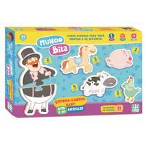 Brinquedo Progressivo Para Bebê Bita e os Animais Nig - Nig Brinquedos