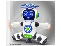 Brinquedo Robô Dança Gira 360 Graus Robot Som & Luz - Robo Dance