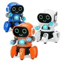Brinquedo Robo Interativo Musical Inteligente Que Anda Danca -