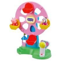 Brinquedo Roda Gigante DTC Peppa Pig E Zoe Com Luz E Som -