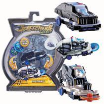 Brinquedo Screechers Smokey Com 3 Discos 4719 - Dtc