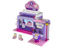 Brinquedo Shopkins Kinstruction Scene Sets - Slumber Fun 184 Peças DTC -
