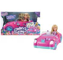 Brinquedo Sparkle Girlz Carro Fada das Borboletas Dtc 4762 -