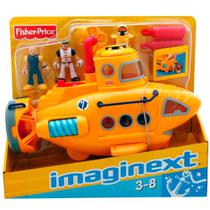 Brinquedo Submarino Aventura Imaginext Fisher Price Mattel