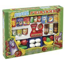 Brinquedo Super kit Feirinha com 32 peças + 3 anos - Pica Pau