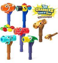 Brinquedo The Grabberz Martelo e Atirador - Dtc