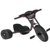 Brinquedo Triciclo Velotrol Preto Até 25kg Bandeirante -