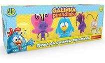 Brinquedo Turma Da Galinha Pintadinha Com 5 Bonecos Dtc 4991 - Mga