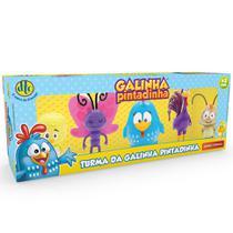 Brinquedo Turma da Galinha Pintadinha com 5 Bonecos Dtc 4991 -
