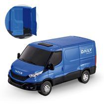 Brinquedo Van Iveco Daily Furgão Carga Abre Porta de Trás - Usual Brinquedos