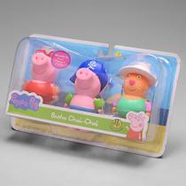 Brinquedos de Banho Bonecos Peppa Pig Banho Chua Chua 4827 - Dtc