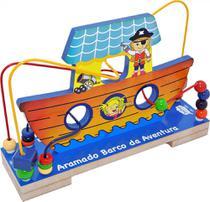 Brinquedos Educativos - BARCO DA AVENTURA ARAMADO ZASTRAS  - ZASTRAS BRINQUEDOS -