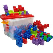 Brinquedos Educativos Blocos Pecinhas De Montar Desmontar - Dismat