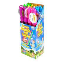 Brinquedos Educativos - BOLHA DE SABAO BUBBLEZ 2 EM 1- 150ML - BATIKI -