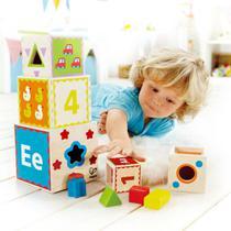 Brinquedos Educativos - PIRAMIDE DE BLOCOS - HAPE - HAPE -