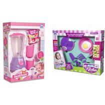 Brinquedos Para Menina 5 Anos Liquidificador + Jogo Panelas - Zuca Toys