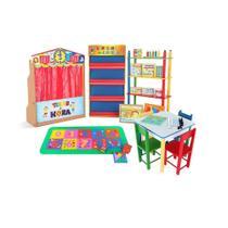 Brinquedoteca Básica - Kit Composto Por 21 Produtos - Carlu Brinquedos