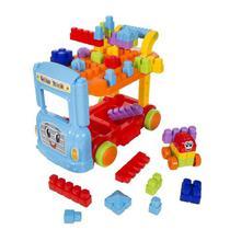 Briquedo Infantil Bricks Truck Blocos de Montar - Maral -