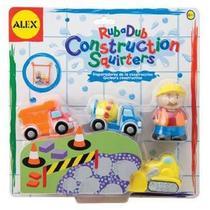 Briquedos P/ Banheira Construction Squirters - Alex Toys - Alex Toys - Kd Bebê