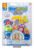 Briquedos P/ Banheira Sereia - Blow Bubles In The Tub 832WM - Alex Toys - Alex Toys - Kd Bebê