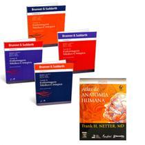 Brunner 12ª Ed + Netter - Atlas de Anatomia Humana 6ª Ed - Kit De Livros