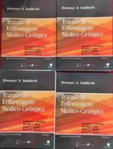 Brunner & Suddarth: Tratado de Enfermagem Medico-Cirúrgica - 11ª Edição - 4 volumes - Guanabara Koogan