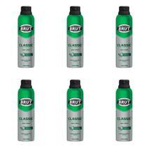 Brut All Day Classic Desodorante Aerosol 48h 150ml (Kit C/06) -