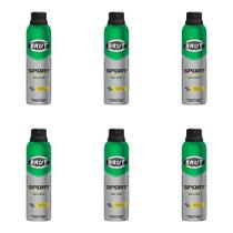 Brut All Day Sport Desodorante Aerosol 48h 150ml (Kit C/06) -