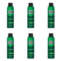 Brut Classic Desodorante Aerosol 48h 150ml (Kit C/06) -