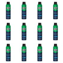 Brut Deep Blue Desodorante Aerosol 48h 150ml (Kit C/12) -