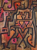 Bruxas da Floresta (1938) - Paul Klee - 75x99 - Tela Canvas Para Quadro - Santhatela