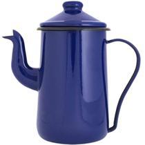 Bule Esmaltado Azul 1,5 Litros - Ewel -