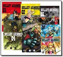 Bullet armors - vols. 01 a 06 - Jbc
