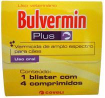 Bulvermin Plus Cartela com 4 Comprimidos - Coveli -