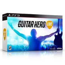Bundle Guitar Hero Live - PS3 - Activision