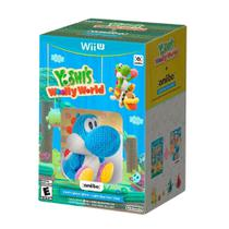 Bundle Yoshi's Woolly World + Amiibo Blue Yarn Yoshi - Wii U - Nintendo