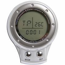 Bússola com Relógio, Cronômetro e Termômetro Digital Vivitar VIV-DC40 -