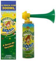 Buzina do Brasil Com Corneta 300ml Kit Com 12 Unidades -