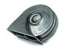 Buzina Eletrônica Caracol Universal Agudo 12 Volts 2 Pinos para Carros Motos Caminhões - Fiamm - AM80H -