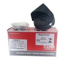 Buzina Eletrônica Caracol Universal Agudo 12 Volts 2 Terminais Para Carros Motos Caminhões - FIAMM - AM80H -