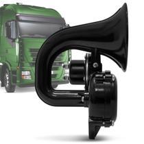 Buzina para Caminhão Eletropneumática Universal 24v Universal - Vetor -