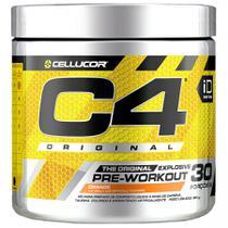 C4 Pré Workout 90g Pré Treino 30 Porções Cellucor- Orange -